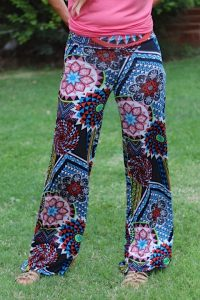 Colorful Palazzo Pants Photos