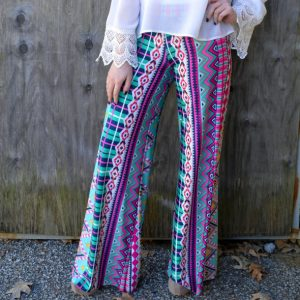 Colorful Palazzo Pants Pictures