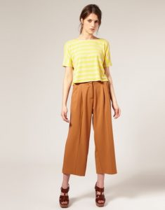 Cropped Palazzo Pants Images