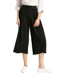 Cropped Palazzo Pants Photos