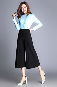 Cropped Palazzo Pants Pictures