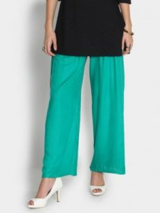 Green Palazzo Pants Pictures