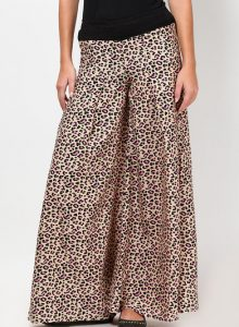 Images of Leopard Palazzo Pants
