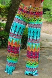 Pictures of Colorful Palazzo Pants