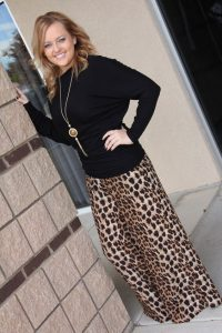 Pictures of Leopard Palazzo Pants