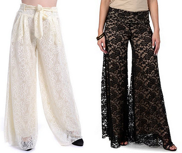 979fe4072144d ... Pictures Lace Palazzo Pants